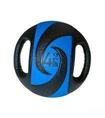 Мяч тренировочный медицинбол с хватами 4 кг Original Fit Tools FT-DHMB-04