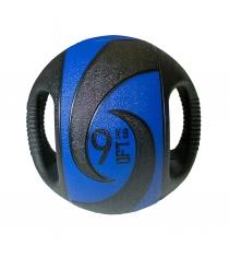 Мяч тренировочный медицинбол с хватами 9 кг Original Fit Tools FT-DHMB-09