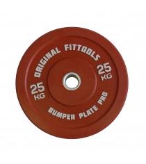Диск бамперный 25 кг красный Original Fit Tools FT-PBRD-25