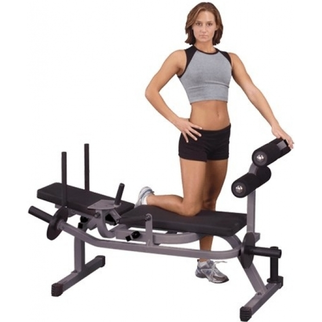 Скамья горизонтальная для тренировки мышц брюшного пресса Body-Solid GAB100