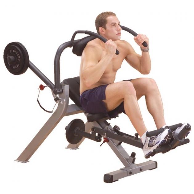Тренажер для мышц брюшного пресса спины Body-Solid GAB300
