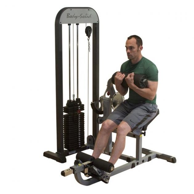 Блочный тренажер для пресса спины Body-Solid GCAB-STK