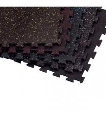 Напольное покрытие interlock черное Body Solid RFPM4B