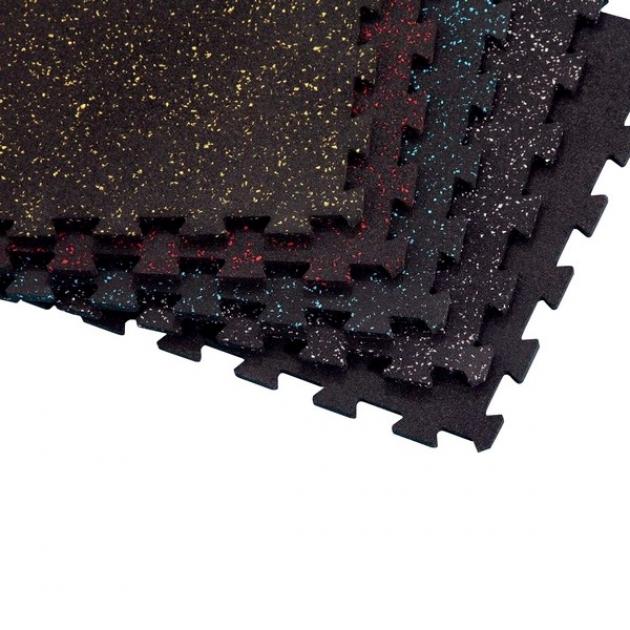 Напольное покрытие interlock черное с серым Body-Solid RFPM4G