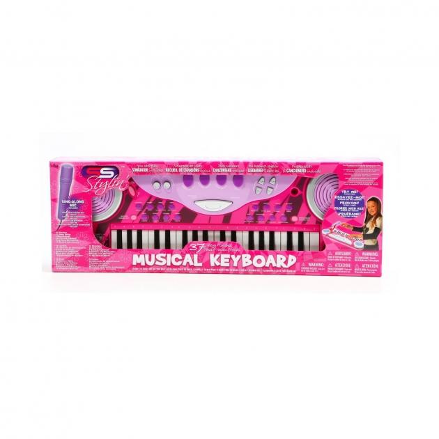 Синтезатор с микрофоном musical keyboard 37 клавиш SS Music 40004