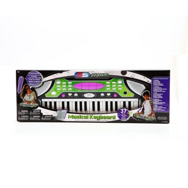 Синтезатор super sonic с микрофоном 37 клавиш SS Music 77048
