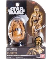 Яйцо трансформер Star Wars Bandai C 3PO 84547