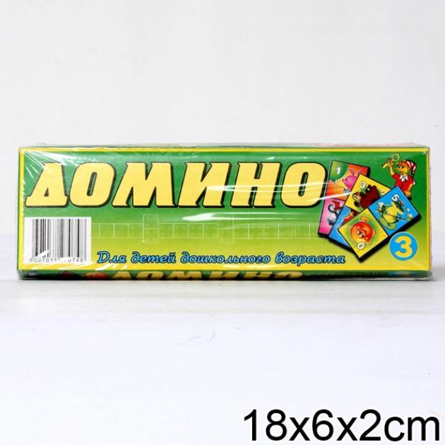 Домино 3 герои мультфильмов Стеллар Р62220