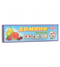 Детское развивающие домино фрукты Stellar 14