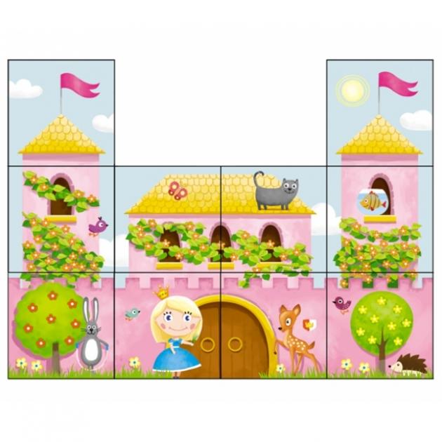 Кубики дворец принцессы 10 шт Стеллар Р79151