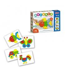 Детский игровой набор мозаика 70 элементов Stellar 1078...