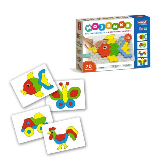 Детский игровой набор мозаика 70 элементов Stellar 1078