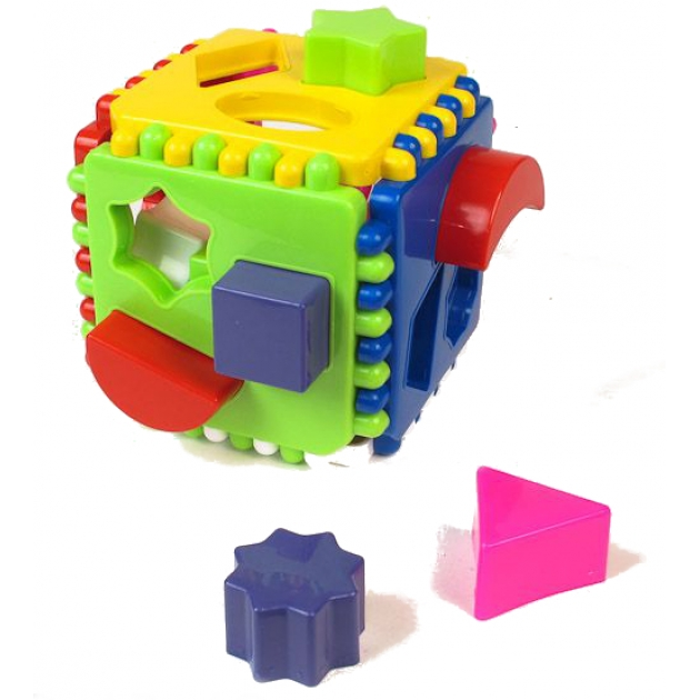 Сортер подарочный логический куб Стеллар Р62301