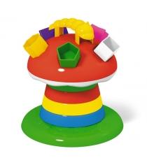 Развивающая игрушка сортер пирамидка гриб на поляне Stellar 1337...
