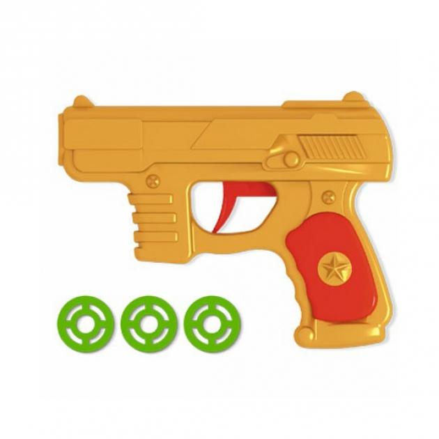 Игрушечный пистолет с дисковыми патронами Stellar 1364