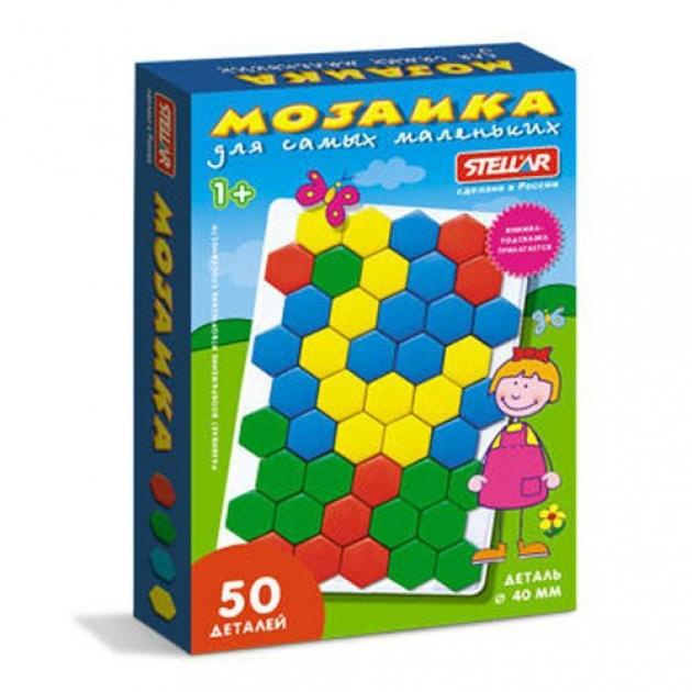 Мозаика для самых маленьких 4 см 50 шт Стеллар Р62273