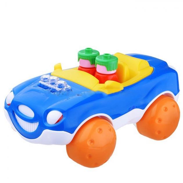 Машинка кабриолет звездочка синяя Стеллар Р73526
