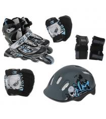 Набор Action ролики, защита, шлем размер 34-37 PW-117С