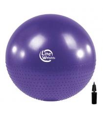 Мяч гимнастический массажный Lite Weights BB010-30