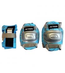 Защита локтя, запястья, колена Action размер L PW-308B