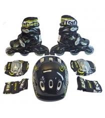 Набор Action ролики, защита, шлем размер 35-38 PW-120B