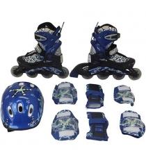 Набор Action ролики, защита, шлем размер 34-37 PW-780
