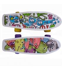 Скейтборд пластиковый Action CMW019