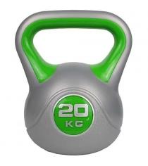 Гиря пластиковая ZS-Sports 20кг ZS-20
