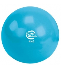Медбол Lite Weights 4кг 1704LW