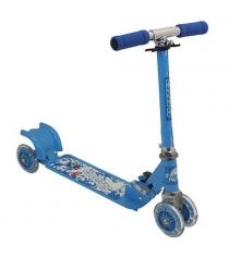 Самокат Charmingsports четырехколесный голубой CMS010