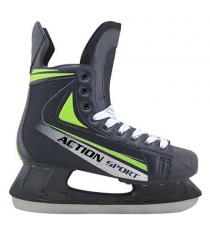 Коньки Action хоккейные размер 37 PW-434