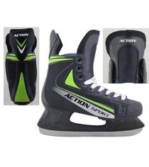 Коньки Action хоккейные размер 40 PW-434