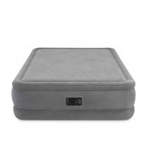 Надувная кровать Intex Foam Top Airbed Queen со встроенным насосом 152*203*51см 64470
