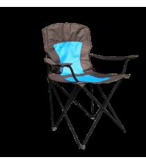 Кресло кемпинговое Evrosport складное с подстаканником RK-0103