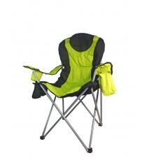 Кресло кемпинговое Evrosport складное с подстаканником и доп отделением RK-0108