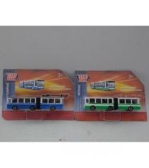 Металлический троллейбус автобус 12 см Технопарк SB-17-31-BLC