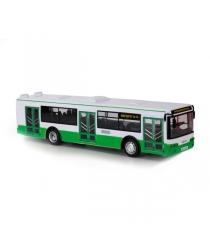 Автобус пластиковый инерционный Технопарк