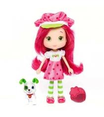 Кукла Шарлотта Земляничка с питомцем 15 см 12231
