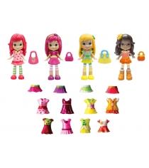 Набор кукол Шарлотта Земляничка 8 см 4 шт с одеждой 12254