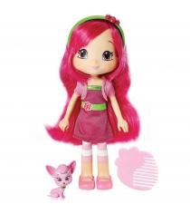 Кукла Шарлотта Земляничка Малинка с питомцем 15 см 12269