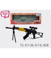 Автомат Tm на батарейках Боевое Оружие AK-74 со светом и звуком r139893