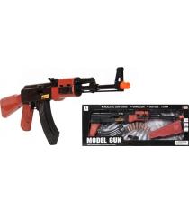 Автомат Tm на батарейках AK-47 c гильзами со светом и звуком 75 см r147380