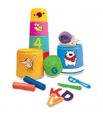 Пирамидка детская Toy target разноцветные стаканчики 23020