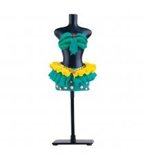 Пластилин Toy target Fashion Dough и манекеном зеленый 99099