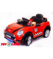 Toyland Mini Cooper HL198К красный