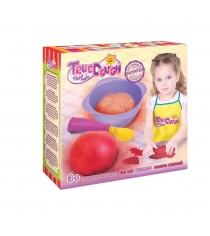 Тесто для лепки true dough огненно красный Toys Lab 21013