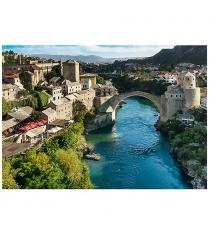 Trefl старый мост в городе мостар босния и герцеговина 1000 элементов 10383