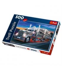 Trefl серебряный грузовик 500 элементов 37121