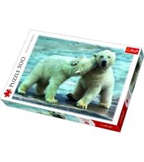 Trefl белые медведи 500 элементов 37270