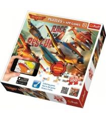 Trefl самолёты 2 100 деталей и мобильное приложение 75109